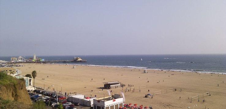 Santa Monica Ausblick