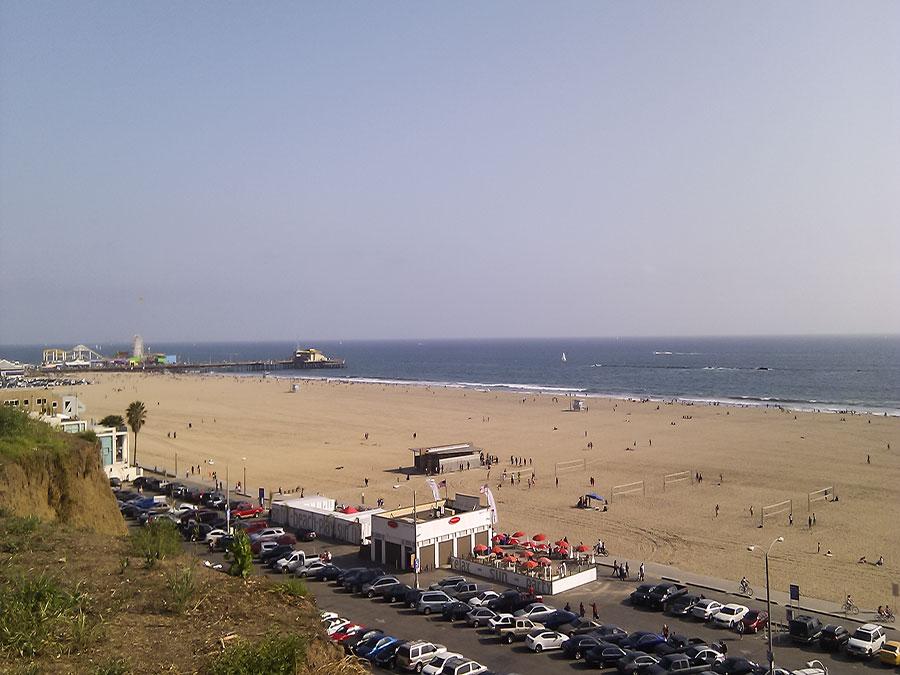 ein Tag in Los Anngeles - Santa Monica Ausblick