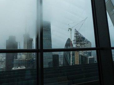 Sky Garden Aussicht auf die Wolkenkratzer