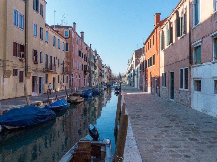 Venedig Kanal Ansicht