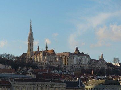 Budapest Matthiaskirche von Pest fotografiert