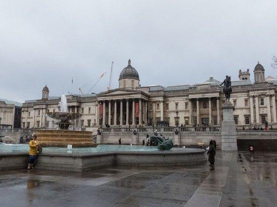 National Gallery beim Trafalgar Square
