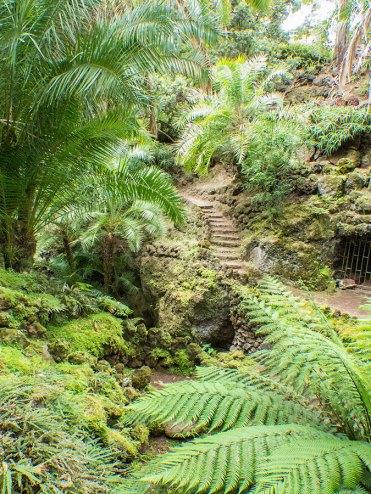 Treppen im Jardim Antonio Borges