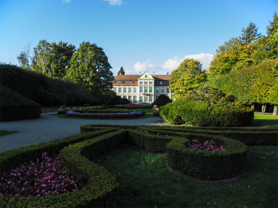Danzig Highlights Oliwski Park Herrenhaus