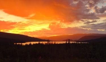 Wonder lake at 2 AM
