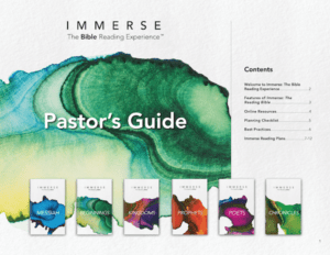 Immerse Pastor's Guide Thumbnail