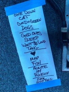 Slaughter Beach Dog setlist 8/22/19