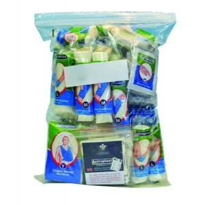 10 person first aid kit refill