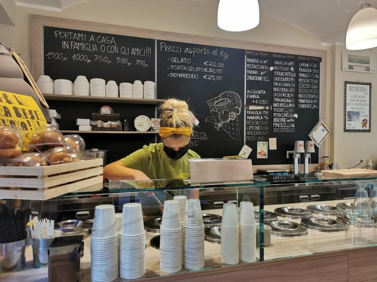la gelateria artigianale 100% natuarale di Chiavari