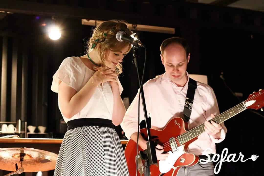 Jeffrey Bützer and Emily Marie Palmer
