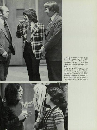 WRAS birthday 1974