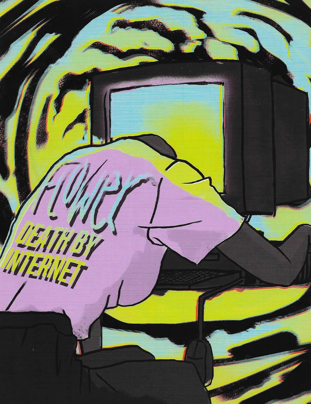 Flower - Death By Internet