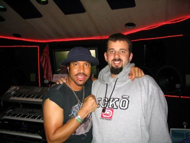 Marsh with Lionel Richie