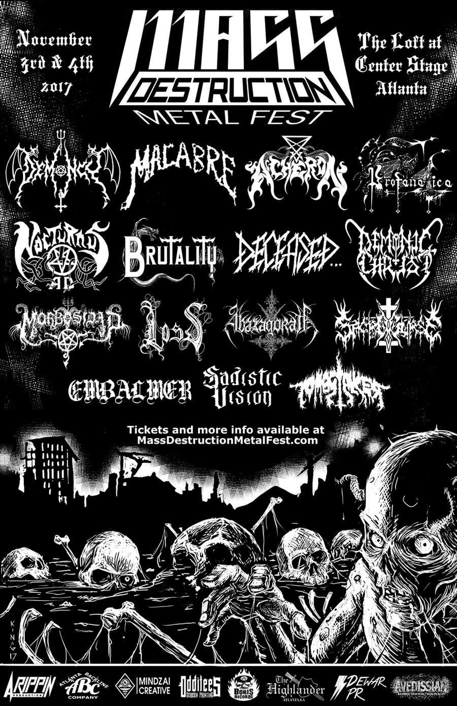 Mass Destruction Metal Fest