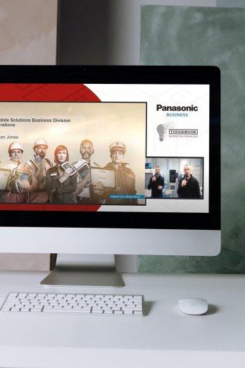 Panasonic virtual conference streaming from Immersive AV