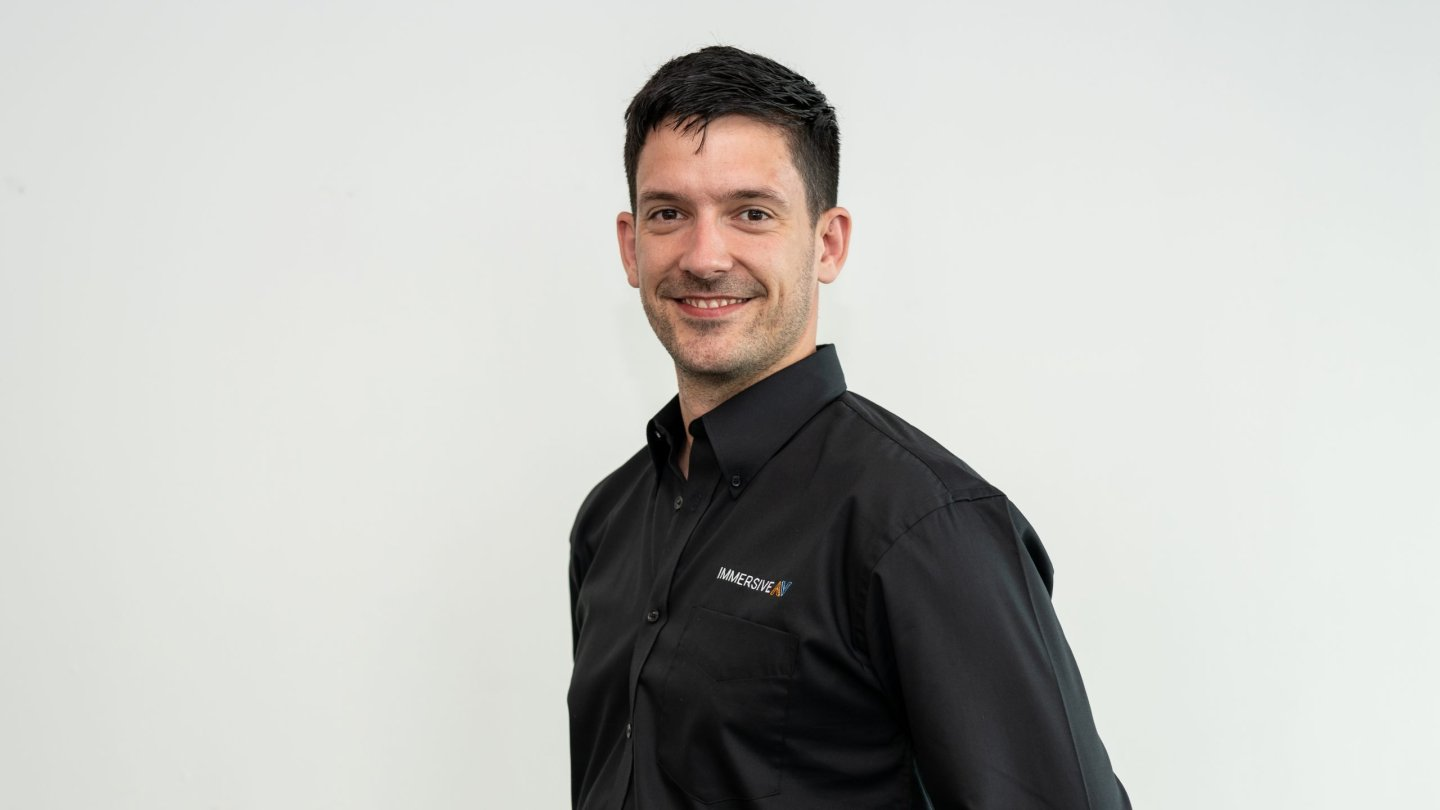 Paul Flaherty joins Immersive AV as an Account Manager