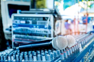 Audio systems for iGB live