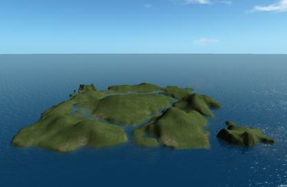 Island 1 Terrain File by NDC Textures