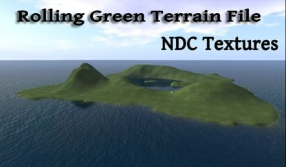 Rolling Green Terrain File by NDC Textures