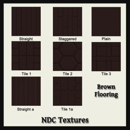 Brown Flooring Texture Pack by NDC Textures