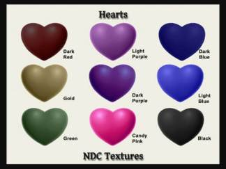 Hearts Texture Pack by NDC Textures