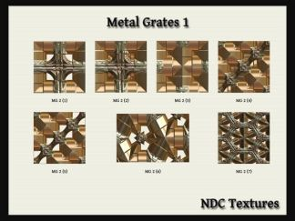 Metal Grates 1 Texture Pack by NDC Textures
