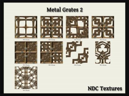 Metal Grates 2 Texture Pack by NDC Textures