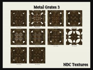 Metal Grates 3 Texture Pack by NDC Textures