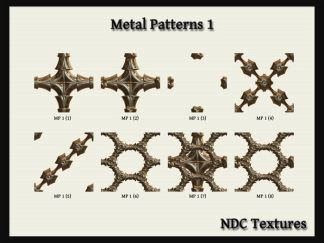 Metal Patterns 1 Texture Pack by NDC Textures