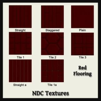 Red Flooring Contact Sheet