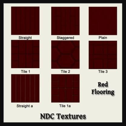 Red Flooring Contact Sheet