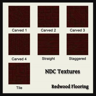 Redwood Flooring Texture Pack by NDC Textures