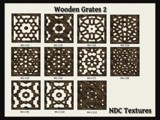 Wooden Grates #2 Texture Pack by NDC Textures