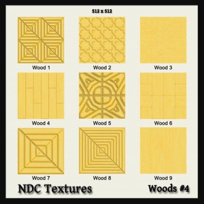 Woods #4 Texture Pack by NDC Textures