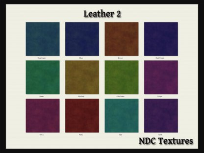 Leather 2 Texture Pack by NDC Textures