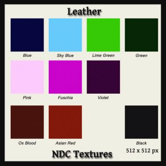 Leather Texture Pack by NDC Textures