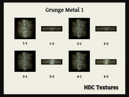 Grunge Metal 1 Texture Pack by NDC Textures