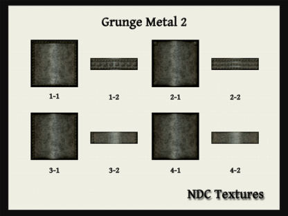 Grunge Metal 2 Texture Pack by NDC Textures