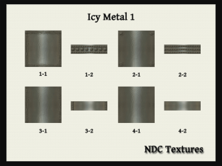 Icy Metal 1 Texture Pack by NDC Textures