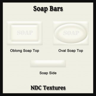 Soap Bars Texture Pack by NDC Textures
