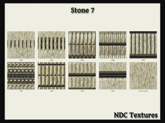 Stone 7 Texture Pack by NDC Textures