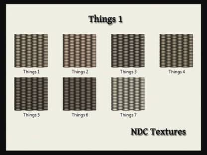 Things 1 Texture Pack by NDC Textures