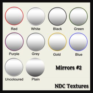 [Immersive Digital] NDC-T011 Mirrors #2 Texture Pack Contact Sheet