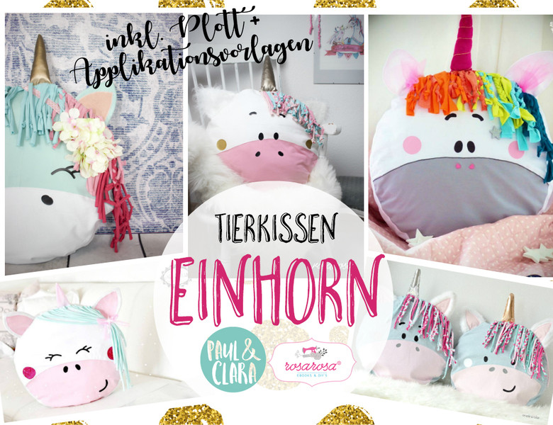 einhorn kissen n hen immertreugehtfremd immertreu friends. Black Bedroom Furniture Sets. Home Design Ideas
