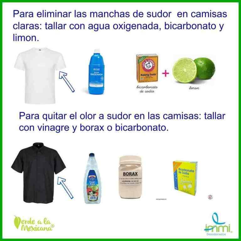Lee más sobre el artículo Cómo quitar las manchas y el olor a sudor en la ropa