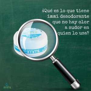Lee más sobre el artículo Cómo funciona Immi desodorante