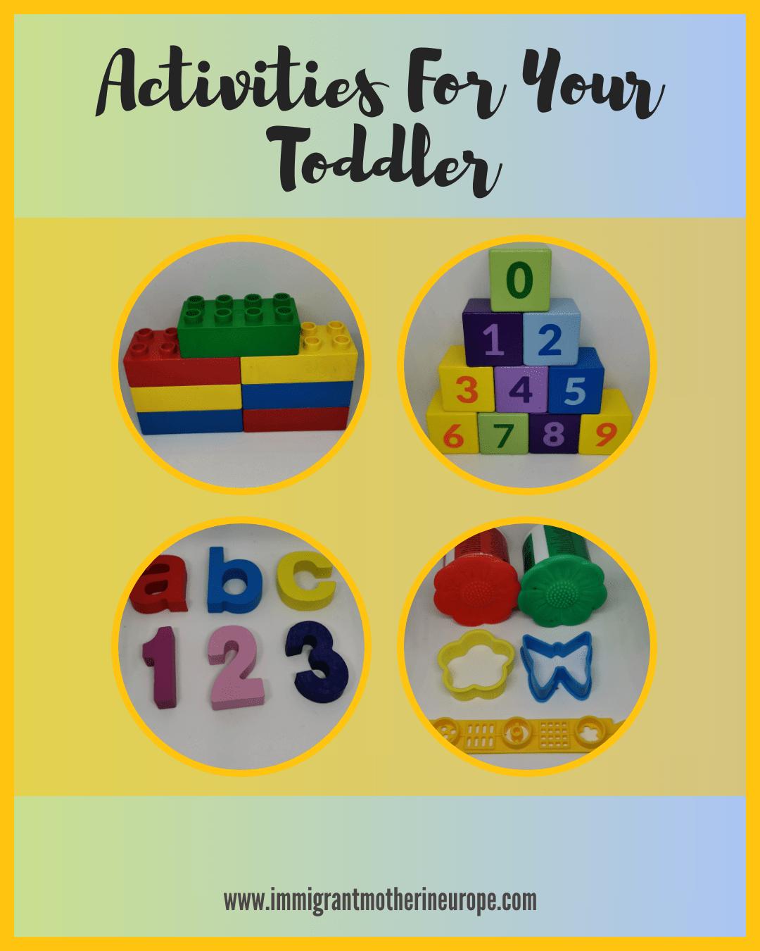 Toddler Montessori toys