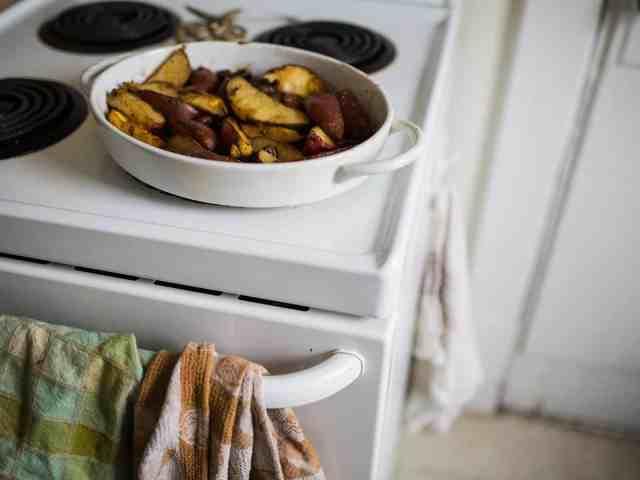paprika potatoes and mushrooms