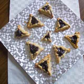 Gluten-free and vegan prune hamantaschen, or the story of homemade love