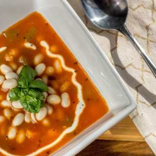 Pasulj Serbian white bean soup, or how a common culture can shine like a beacon
